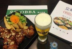 義賣:OBBA韓式料理 MOP75韓式炸雞配一杯啤酒或汽水、MOP80韓式醬炸雞配一杯啤酒或汽水