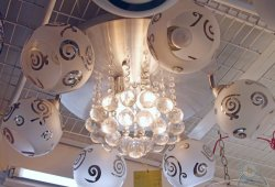 優惠價MOP1513  CL1048 水晶球燈 (原價MOP1780)