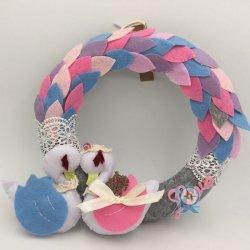 優惠價MOP320 天鵝湖Love 不織布掛環 獨一無二的手作配上一對優雅的天鵝,可用作新婚、結婚週年禮物