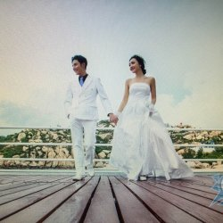 特惠價MOP24555一心禮服結婚當日一條龍 (原價MOP28888)