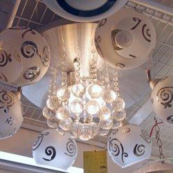五折大優惠MOP890     CL1048 水晶球燈 (原價MOP1780)
