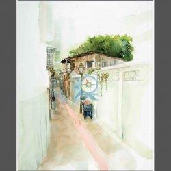 氹仔日頭街  A narrow lane in Taipa
