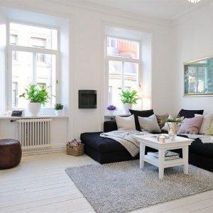 瑞典優雅迷人的公寓設計