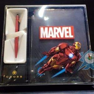 Cross Marvel 特別版原子筆加記事本 $610