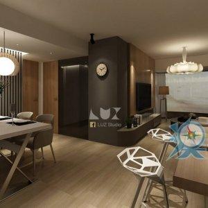 澳門時尚簡約家居 設計案例- LUZ STUDIO 光設計營造有限公司